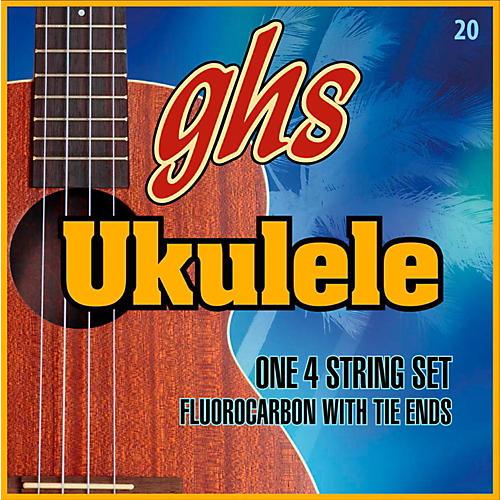 GHS Fluorocarbon Soprano/Concert D Tuning Ukulele Strings-thumbnail
