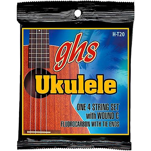 GHS Fluorocarbon Tenor Wound C Ukulele Strings-thumbnail