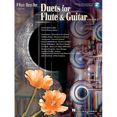 Hal Leonard Flute And Guitar Duets-thumbnail