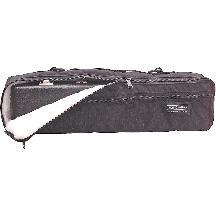 Cavallaro Flute Case Covers B-Foot Large French Case, With Strap