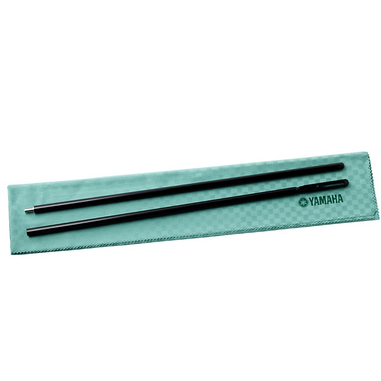 YamahaFlute Cleaning Rod and ClothWooden Rod with Cotton Cloth