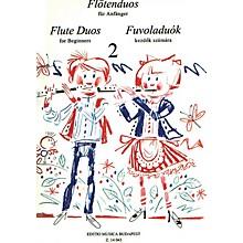 Editio Musica Budapest Flute Duos for Beginners - Volume 2 EMB Series
