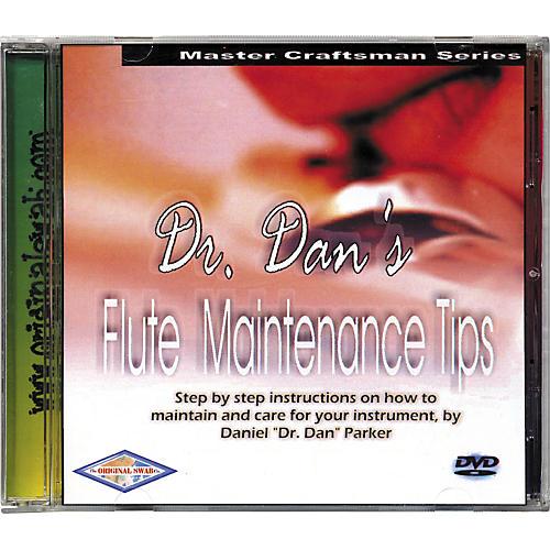 Dr. Dan's Flute Maintenance DVD