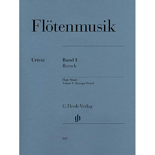 G. Henle Verlag Flute Music (Volume 1 - Baroque Period for Flute & Piano) Henle Music Folios Series Softcover-thumbnail