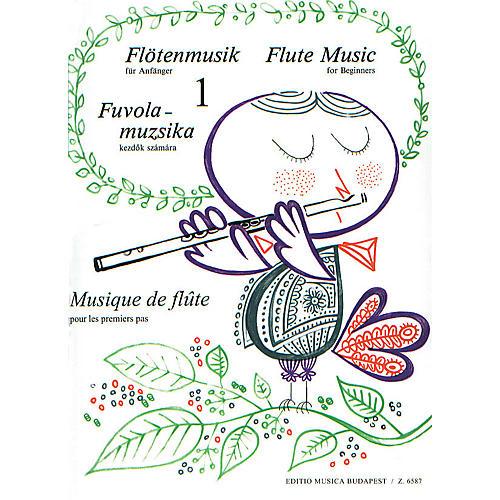 Editio Musica Budapest Flute Music for Beginners - Volume 1 EMB Series-thumbnail