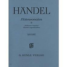 G. Henle Verlag Flute Sonatas - Volume 2 Henle Music Folios Series Softcover
