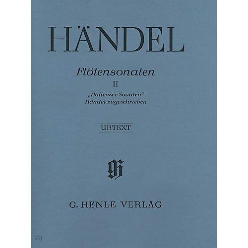 G. Henle Verlag Flute Sonatas - Volume 2 Henle Music Folios Series Softcover-thumbnail