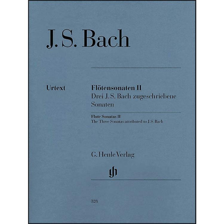 G. Henle VerlagFlute Sonatas - Volume II By Bach