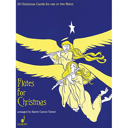Schott Flutes for Christmas (20 Christmas Carols for One or Two Flutes) Schott Series-thumbnail