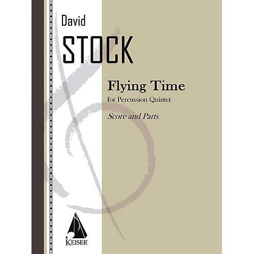 Lauren Keiser Music Publishing Flying Time (Percussion Ensemble) LKM Music Series-thumbnail