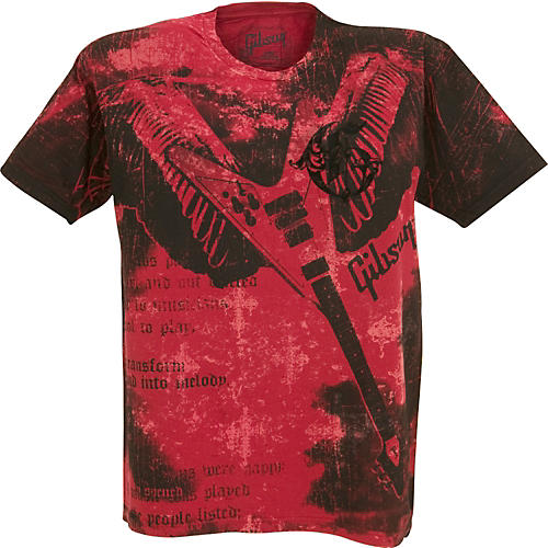 Gibson Flying V Men's Washed T-Shirt