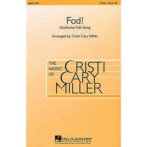 Hal Leonard Fod! 2-Part arranged by Cristi Cary Miller-thumbnail