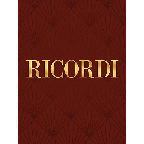 Ricordi Foglio d'album (Piano Solo) Piano Solo Series Composed by Sylvano Bussotti