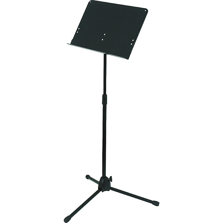 Musician's Gear Folding Music Stand Black