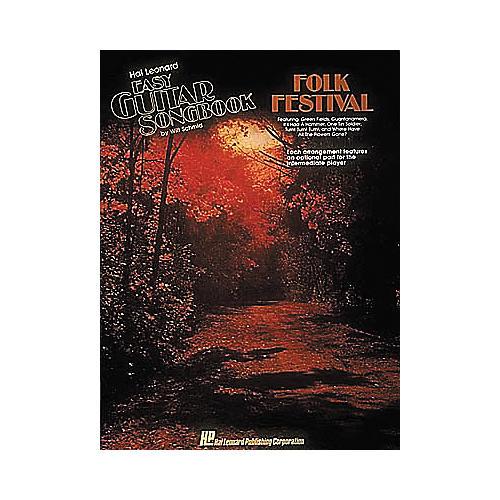 Hal Leonard Folk Festival Easy Guitar Book-thumbnail