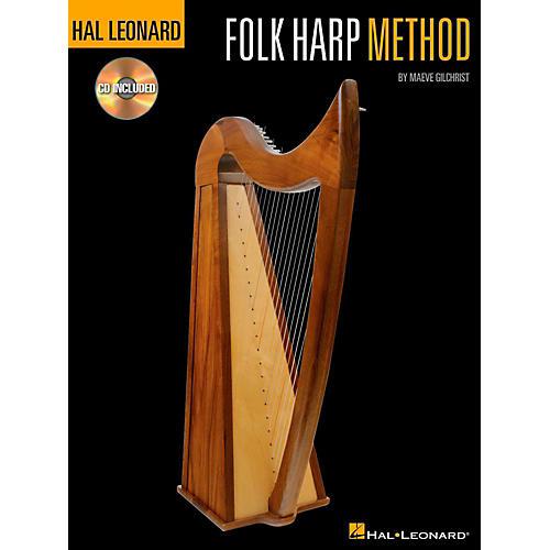 hal leonard folk harp method book cd musician 39 s friend. Black Bedroom Furniture Sets. Home Design Ideas