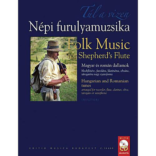 Editio Musica Budapest Folk Music for Shepherd's Flute EMB Series-thumbnail