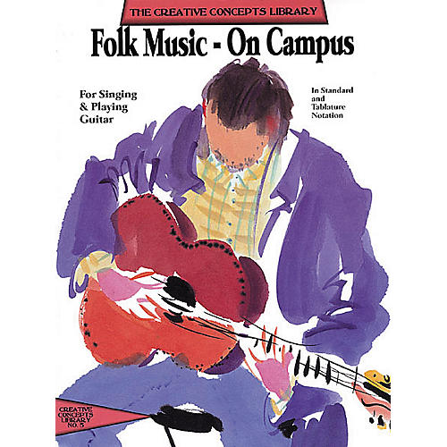 Creative Concepts Folk Music on Campus (Songbook)-thumbnail
