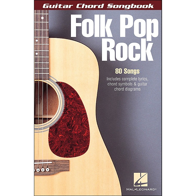 Hal Leonard Folk Pop Rock Guitar Chord Songbook 6X9