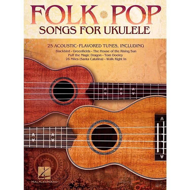 Hal LeonardFolk Pop Songs For Ukulele