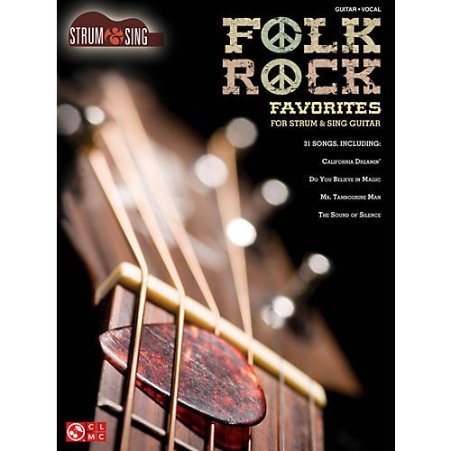 Hal Leonard Folk/Rock Favorites - Strum & Sing Series for easy guitar