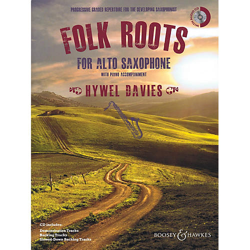 Boosey and Hawkes Folk Roots for Alto Saxophone (Book/CD) Boosey & Hawkes Miscellaneous Series Book with CD-thumbnail