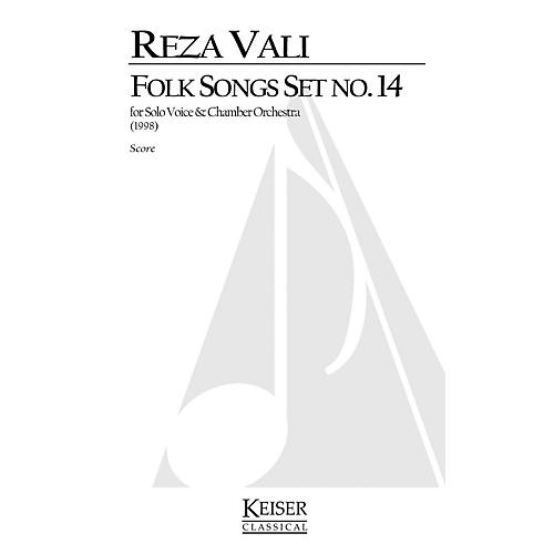 Lauren Keiser Music Publishing Folk Songs: Set No. 14 (Soprano Solo) LKM Music Series  by Reza Vali-thumbnail