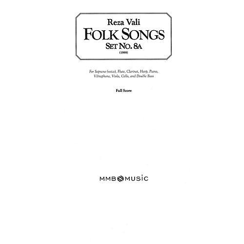 Lauren Keiser Music Publishing Folk Songs, Set No. 8A (for Soprano/Mezzo-Soprano and Chamber Ensemble) LKM Music Series by Reza Vali-thumbnail