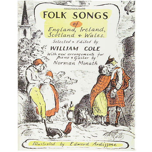 Alfred Folk Songs of England Ireland Scotland & Wales Piano, Vocal, Guitar Songbook