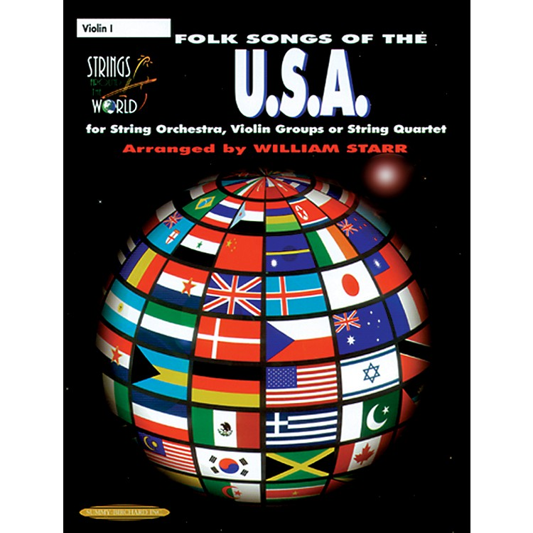 AlfredFolk Songs of the USA Violin (Book)