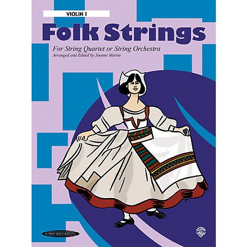 Alfred Folk Strings 1st Violin (Book)