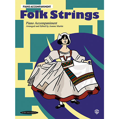 Alfred Folk Strings Piano Accompaniment (Book)-thumbnail