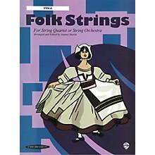 Alfred Folk Strings Viola (Book)