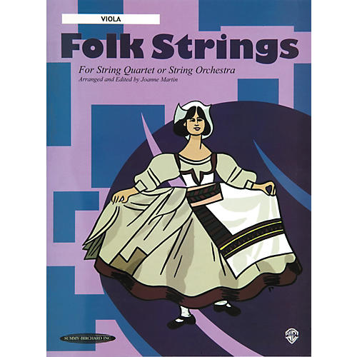 Alfred Folk Strings Viola (Book)