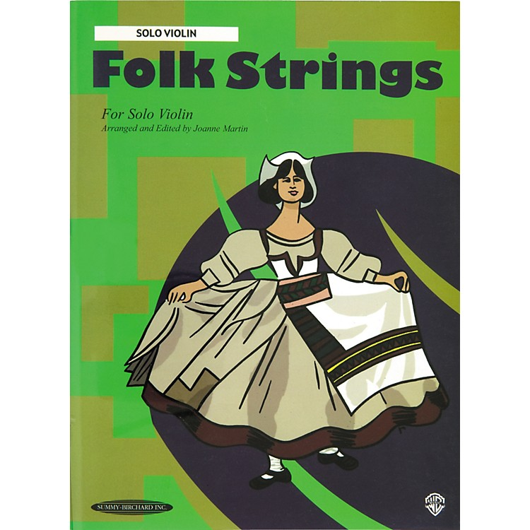 Alfred Folk Strings for Solo Violin (Book)