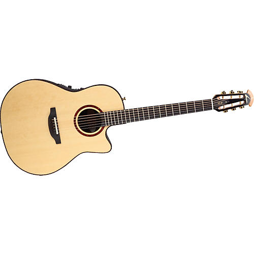 Ovation Folklore 6774LX Acoustic Electric Guitar Natural Finish