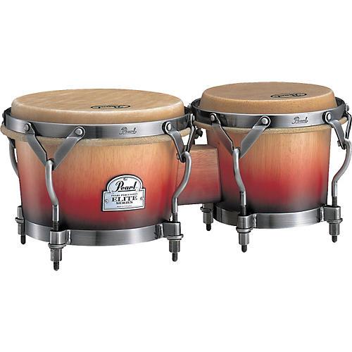 Pearl Folkloric Bongos  Crimson Sunrise