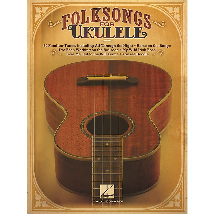Hal LeonardFolksongs For Ukulele