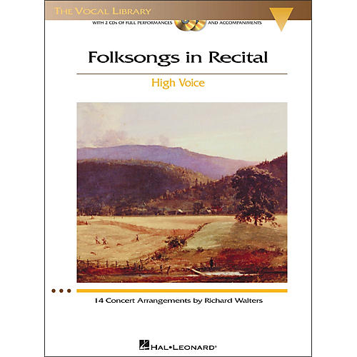 Hal Leonard Folksongs In Recital for High Voice Book / 2CD's-thumbnail
