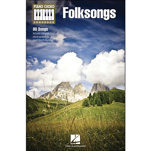 Hal Leonard Folksongs Piano Chord Songbook