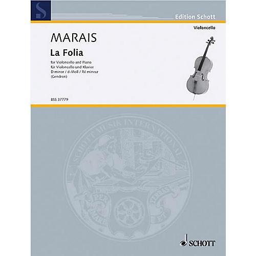 Schott Follia (Cello and Piano) Schott Series
