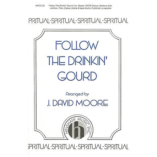 Hinshaw Music Follow the Drinkin' Gourd SATB arranged by J. David Moore-thumbnail