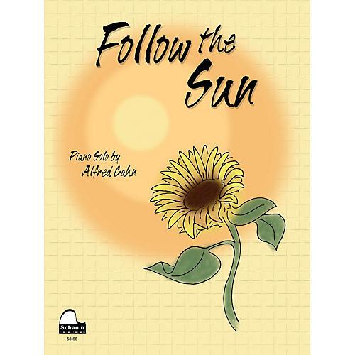 SCHAUM Follow the Sun Educational Piano Series Softcover-thumbnail