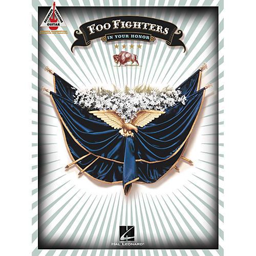 Hal Leonard Foo Fighters In Your Honor Guitar Tab Songbook