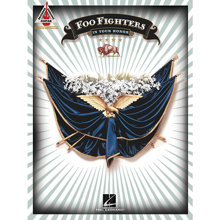 Hal LeonardFoo Fighters In Your Honor Guitar Tab Songbook