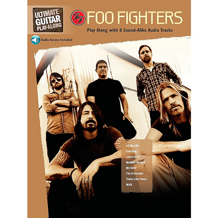 Hal LeonardFoo Fighters Ultimate Play-Along Guitar TAB Book & 2 CDs