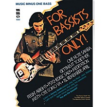 Music Minus One For Bassists Only! Music Minus One Series Softcover with CD Performed by Kenny Smith