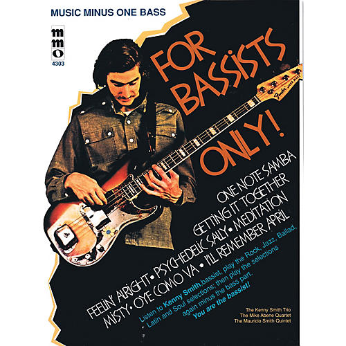 Music Minus One For Bassists Only! Music Minus One Series Softcover with CD Performed by Kenny Smith-thumbnail