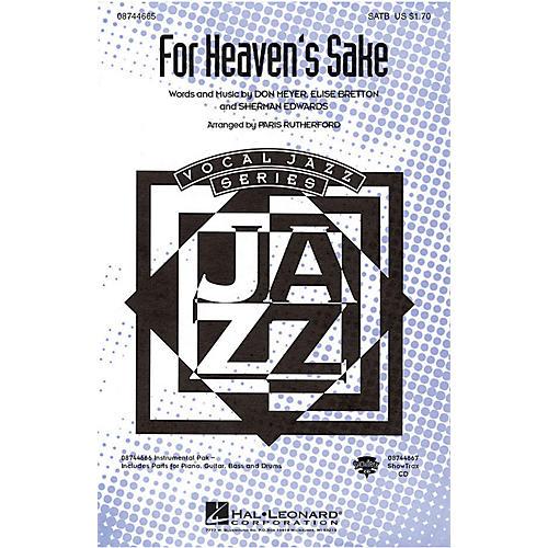 Hal Leonard For Heaven's Sake ShowTrax CD Arranged by Paris Rutherford-thumbnail