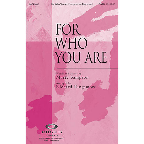 Integrity Choral For Who You Are Orchestra Arranged by Richard Kingsmore-thumbnail